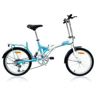 K-POP จักรยานพับ 20 นิ้ว รุ่น KP-2006TSP3-WH (สีขาว)