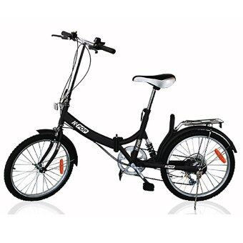K-POP KP-2003YST-BK จักรยานพับ 20นิ้ว 3 Speed (สีดำ)