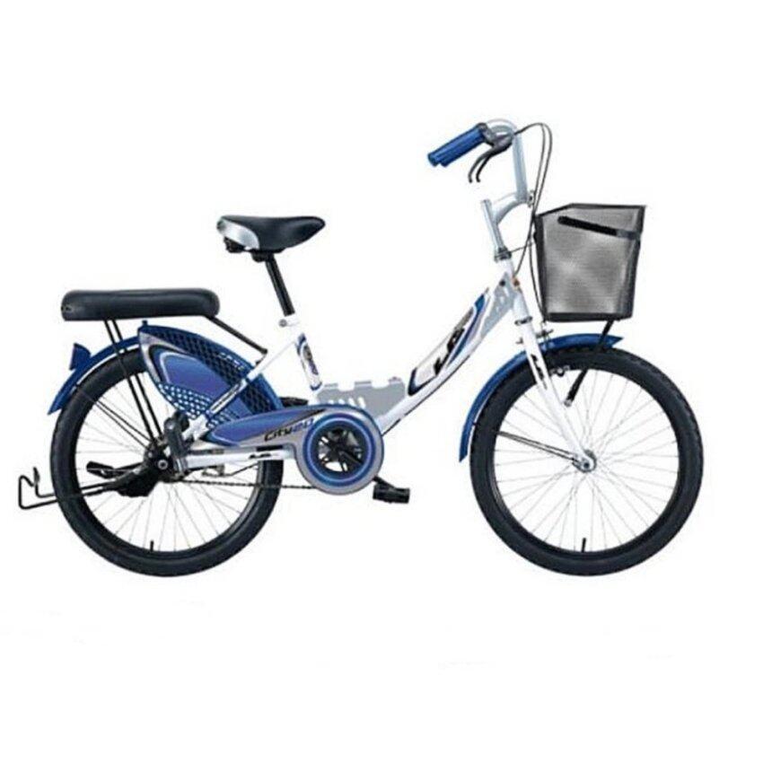 aaa LA Bicycle จักรยานแม่บ้าน รุ่น City Steel 24