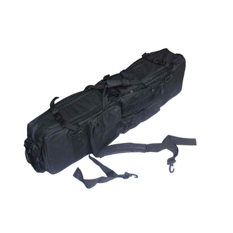 Military Scratch-Resistant Carrying Gun Case Tactical M249 Gun Bag Black - intl .