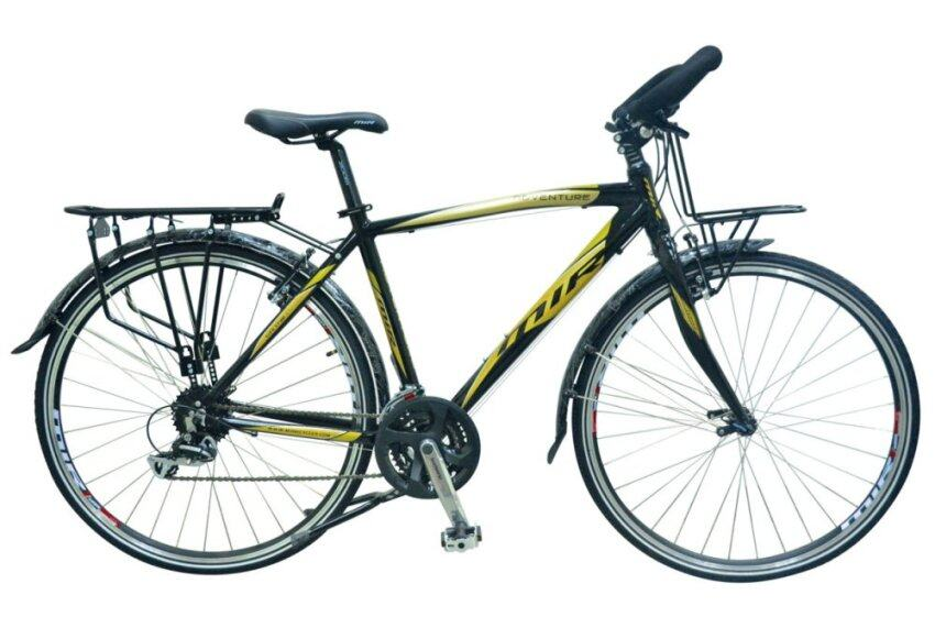 แนะนำ MIR จักรยาน รุ่น ADVENTURE 700C 24SPEED (สีดำ/ทอง) สินค้าราคาประหยัด