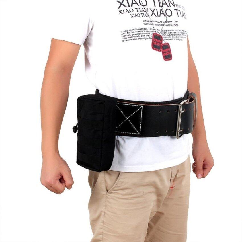 Multifunctional Army Nylon Pouch Waist Bag Tool For Outdoors (Black) - intl ...