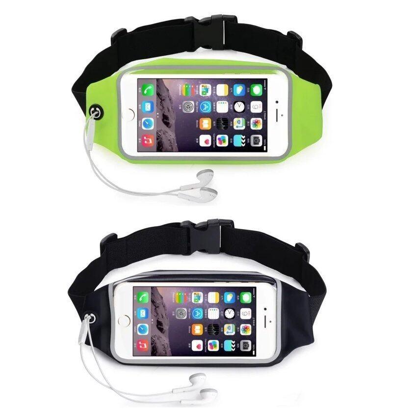 New 2 Pcs 5.5 Inch Waterproof Clear Touch Screen Running Belt Waistpack Phone Bag For Ou ...