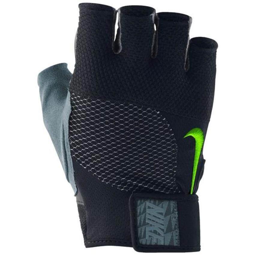 Nike ถุงมือฟิตเนส รุ่น 36050 (Black/Grey) ...