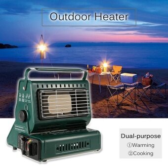 Outdoor Heater Burner Gas Heater Travelling Camping Hiking Picnic Equipment Dual-purpose Use - intl