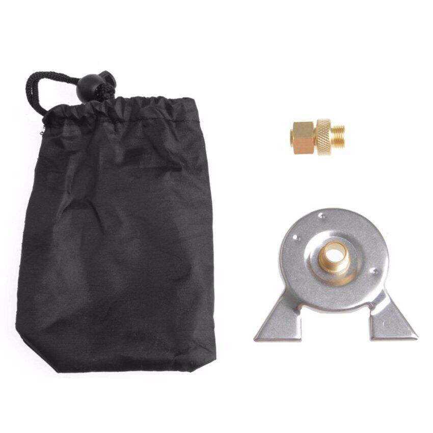 Outdoor Hiking Stove Burning Adapter Furnace Stove Converter Connector Gas Tank - intl ...