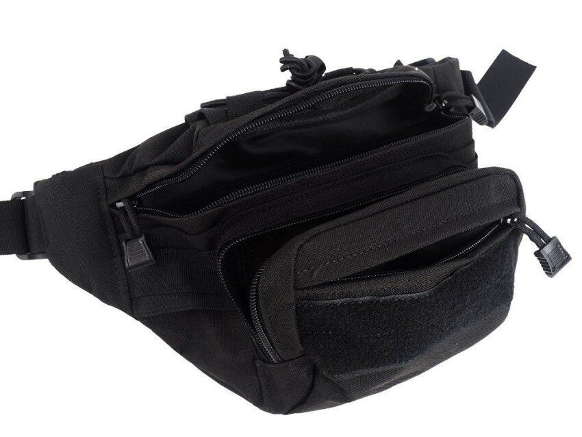 Outdoor Sports Camouflage Waist Bag Hunting Tactical Waist Packs - Intl