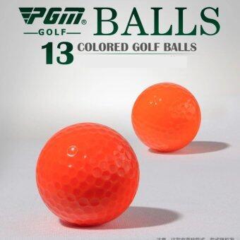 PGM EXCEED ลูกกอล์ฟ PGM (Q014) สีส้ม แพ็ค 3 ลูก