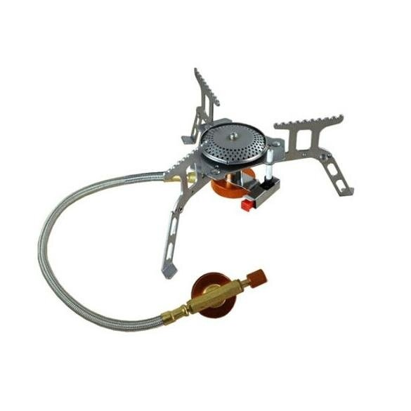 Portable Outdoor Folding Gas Stove Camping Hiking Picnic Burner 3500W - intl
