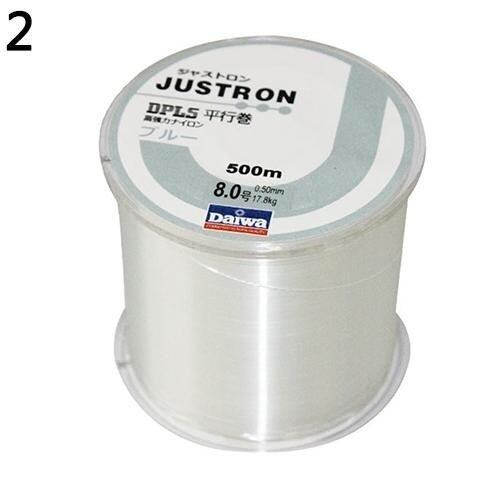 Sanwood 500M Outdoor Fishing Line Nylon Monofilament Durable Lake Sea Fishing Line 5 (Wh ...