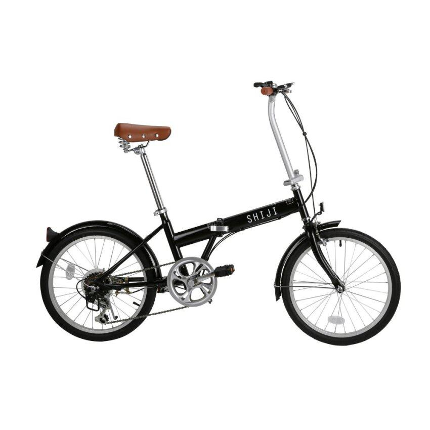 SHIJI FOLDING BIKE (BLACK)