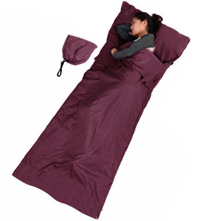 Sleeping Bag ถุงนอนเอนกประสงค์ สีแดง