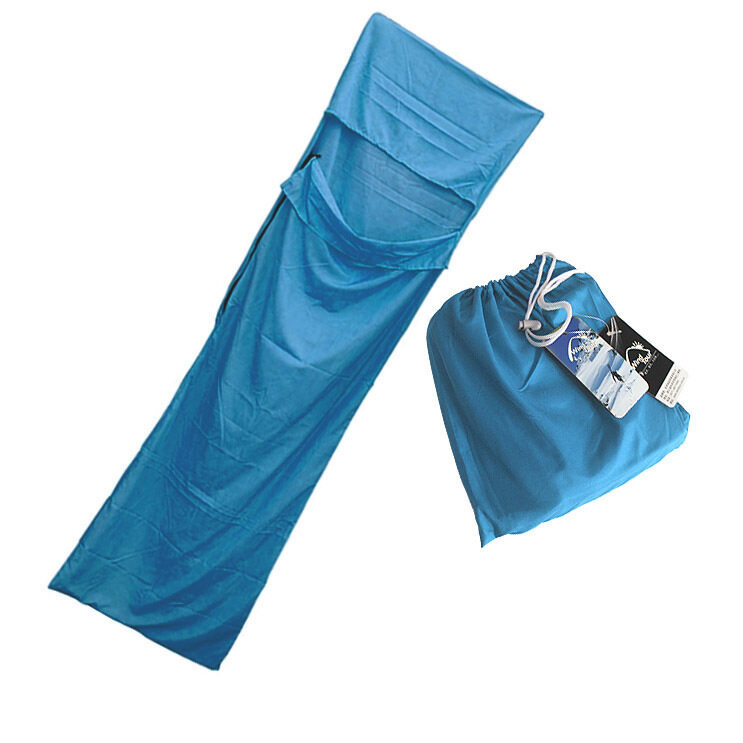 Sleeping Bag ถุงนอนเอนกประสงค์ Wind Tour สีน้ำเงิน