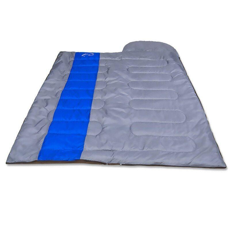 Sleeping Bag ถุงนอน ถุงนอนกันหนาว Windtour 1300g (สีน้ำเงิน)