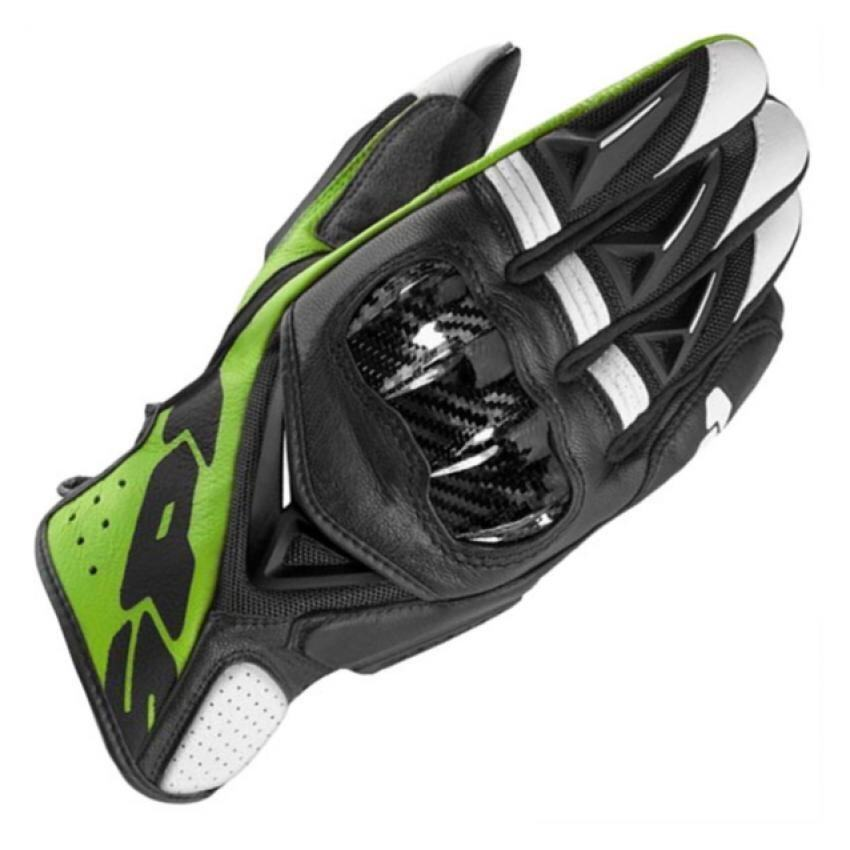 Spidi ถุงมือ STR-3 VENT COUPE BLACK/GREEN