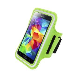 Sports Running Case Arm Bag Band for Samsung Note3 Note4 Note5 (Green)