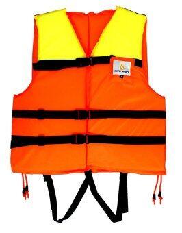 Supersport เสื้อชูชีพ ว่ายน้ำ ดำน้ำ ผู้ใหญ่ พร้อมนกหวีด เบอร์ L รุ่น Super 001