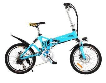TAILG จักรยานไฟฟ้าพับได้ รุ่น Surf TG-TDN137Z ขนาดล้อ 20 นิ้ว (Sky Blue)
