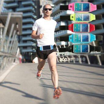 Teamtop Rainproof Sweat-proof Sports Zip Waist Belt Bag Case For iPhone 5S iPhone 6S Green