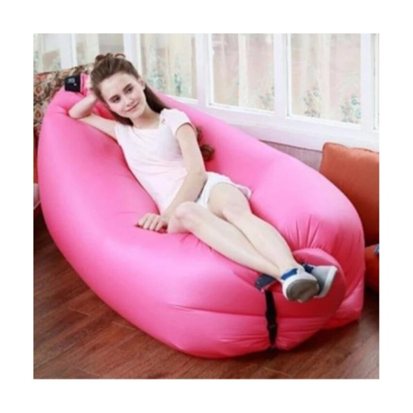The New Air Sofa โซฟาอากาศ ลอยน้ำ พกพาได้ เหมาะกับทุกสถานที่้ (