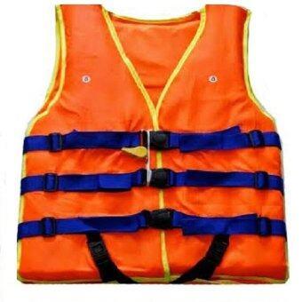 TM เสื้อชูชีพ ฟรีไซร์ รุ่น CH2 (สีส้ม)