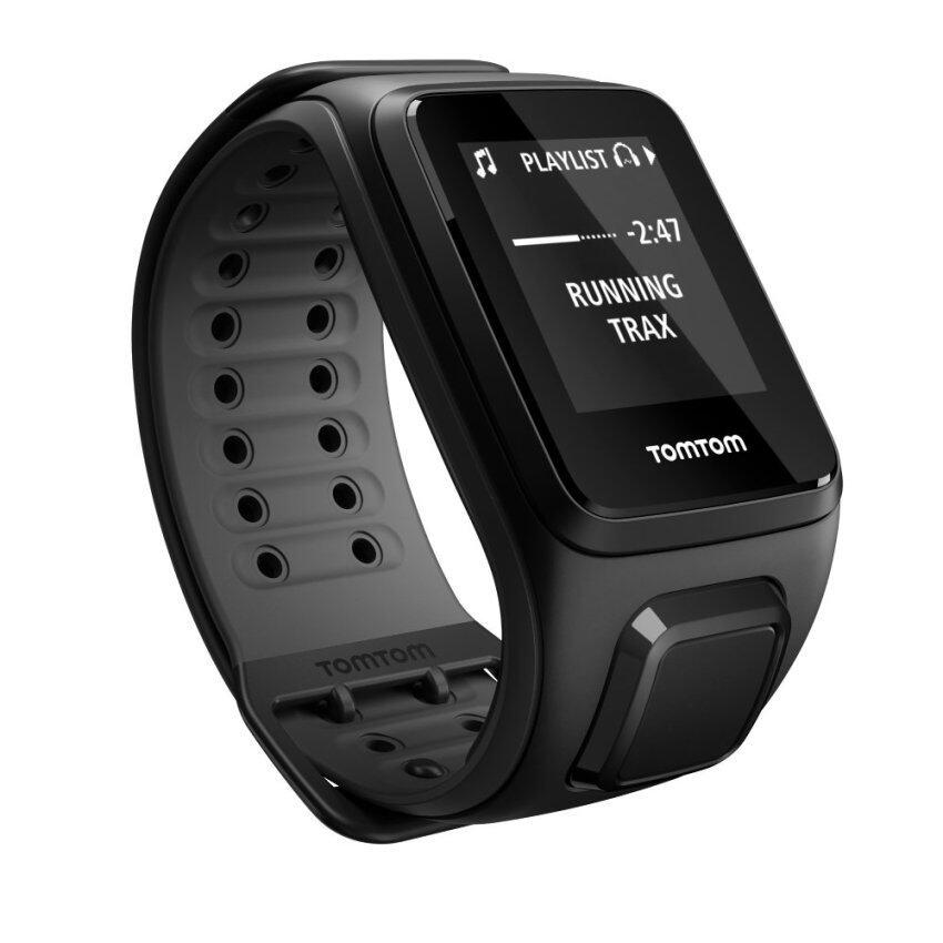 แนะนำ TOMTOM นาฬิกาออกกำลังกาย TomTom SPARK Cardio+Music GPS - Black ลดราคา