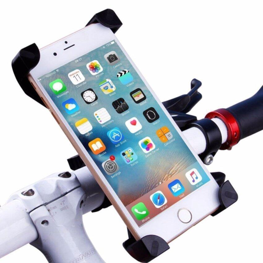Universal Bicycle Mobile Phone Bracket Electric Motorcycle Mountain Bike Navigation Stand Stent Holders for iPhone Samsung HTC - intl