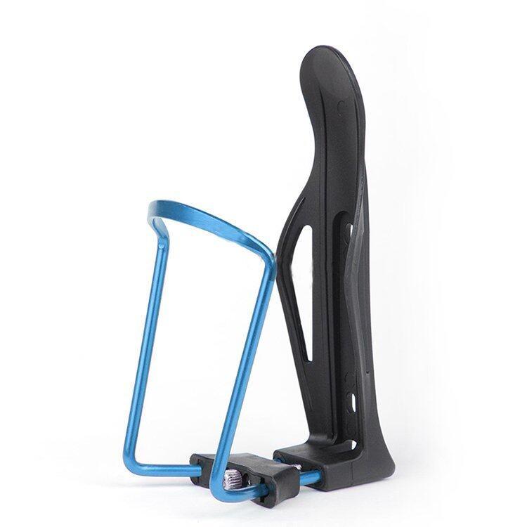 Velishy Aluminum Alloy Water Bottle Holder For Mountain Road Bike Bicycle Adjustable Blu ...