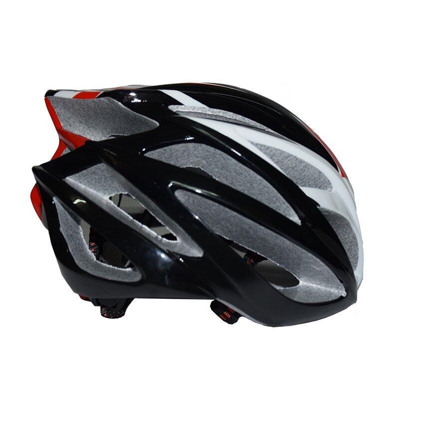 WINN Helmet หมวกจักรยาน รุ่น BH18A-5 สีดำขาวแดง ...