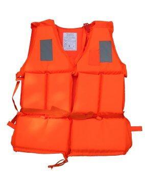 WINS เสื้อชูชีพ พร้อมแถบสะท้อนแสง รุ่น AL-LJK - สีส้ม