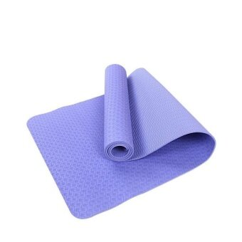 XYS COLLECTION Yoga Premium Mat Better Grip Eco-Friendly With The Best Recyclable Non-Slip and Durable All-Purpose 0.2inch Extra Thick High Density Anti-Tear Yoga Mate - 71inch Long - 4 Colors - intl