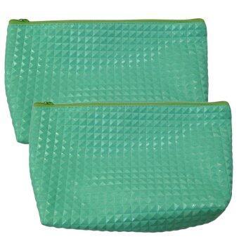 กระเป๋าสตางค์ ( สีเขียว ) แพค 2