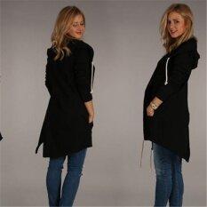 2017 Hitz, Long, Hooded, Long Sleeved Sweaters, Jacket(black) - Intl ราคา 829 บาท(-61%)