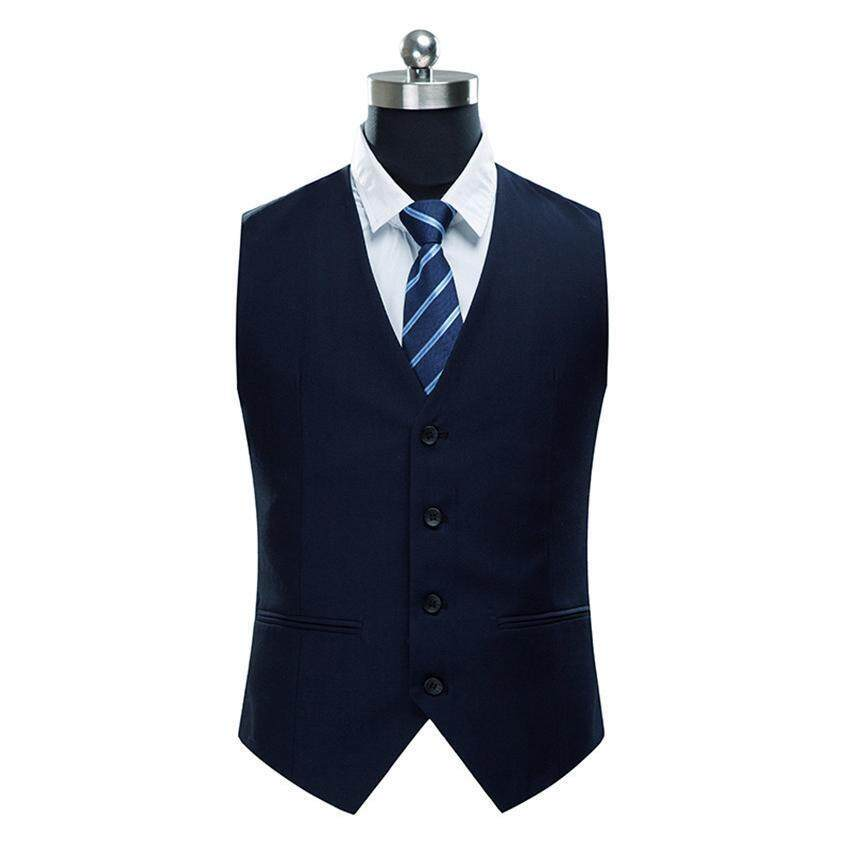 2017 Men Costume High Quality Vest Brand Fashion Blazer Slim Men Solid Color Vest Men Co ...