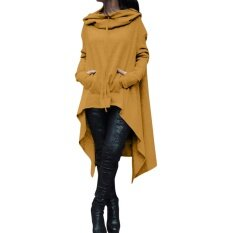 2017 New Autumn And Winter, And The Wind, Solid, Long, Hooded Sweaters(yellow) - Intl ราคา 755 บาท(-57%)