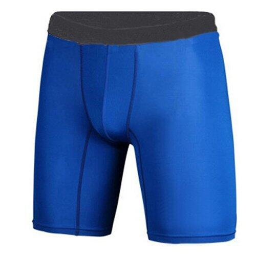 3 Pcs/ Lot Sport Compression Tights Sport Fitness Underwear ( Blue ) - Intl