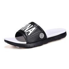 ชายลื่นทนชายหาดรองเท้าแตะรองเท้าแตะ (8118 สีขาว) ราคา 354 บาท(-42%)