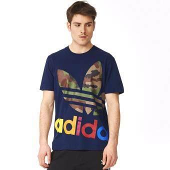 Adidas เสื้อยืด Originals Block It Out (Conavy)
