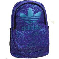 Adidas Originals กระเป๋าเป้ Backpack Outdoor Sports Bag Polyester