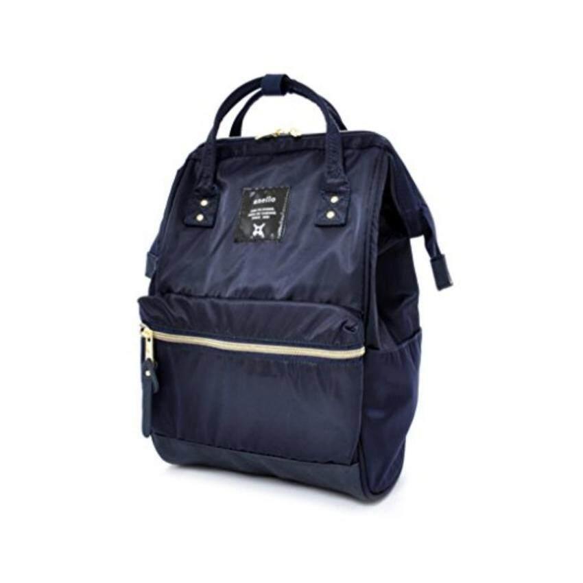 กระเป๋าเป้สะพายหลัง Anello Nylon Unisex Backpack Navy Japan Imported 100%