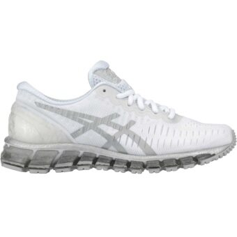 ASICS รองเท้าวิ่ง ASICS GEL-QUANTUM 360 women's รหัส T5J6N 0193 (WHITE/SILVER/SNOW)