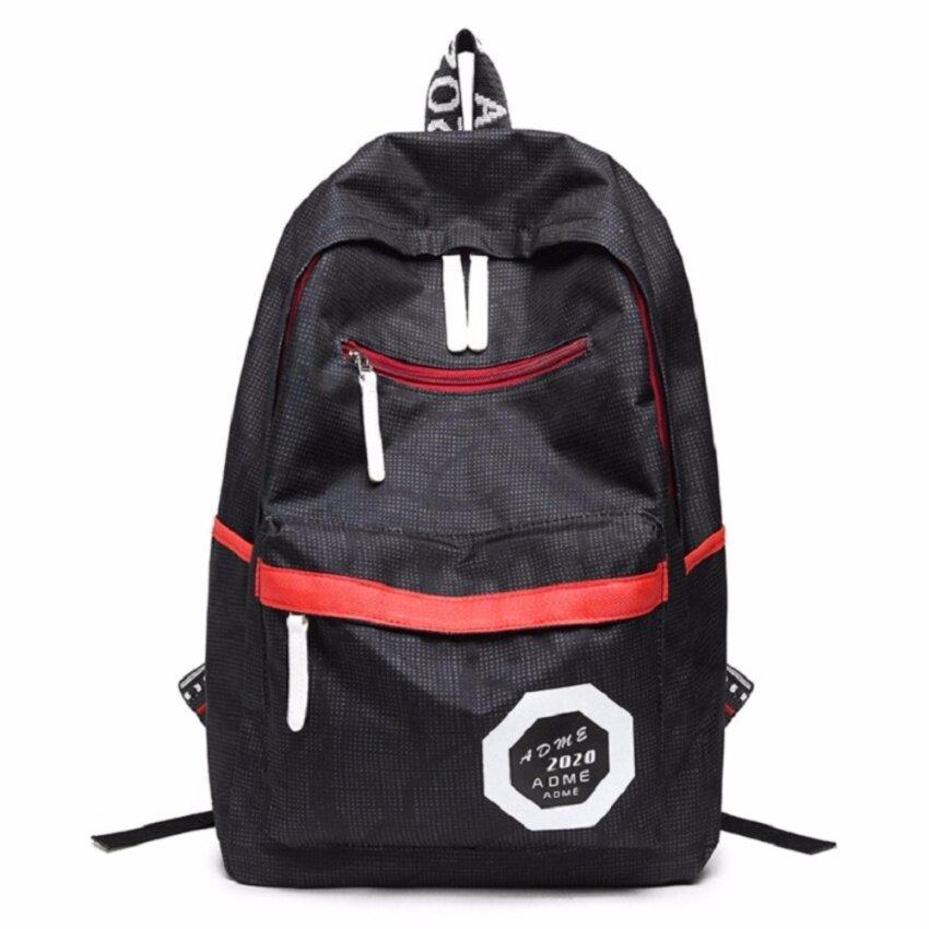 Bag กระเป๋าเป้+กระเป๋าสะพาย+กระเป๋าสะพายหลัง+กระเป๋าแฟชั่น รุ่น123 (สีดำ)