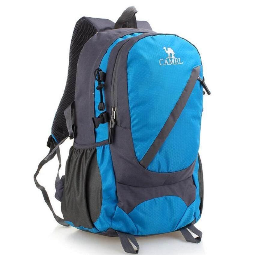 Bag DD กระเป๋าเป้สะพายหลัง แนวสปอร์ต แนวผจญภัย รุ่น02 (สีน้ำเงิน)