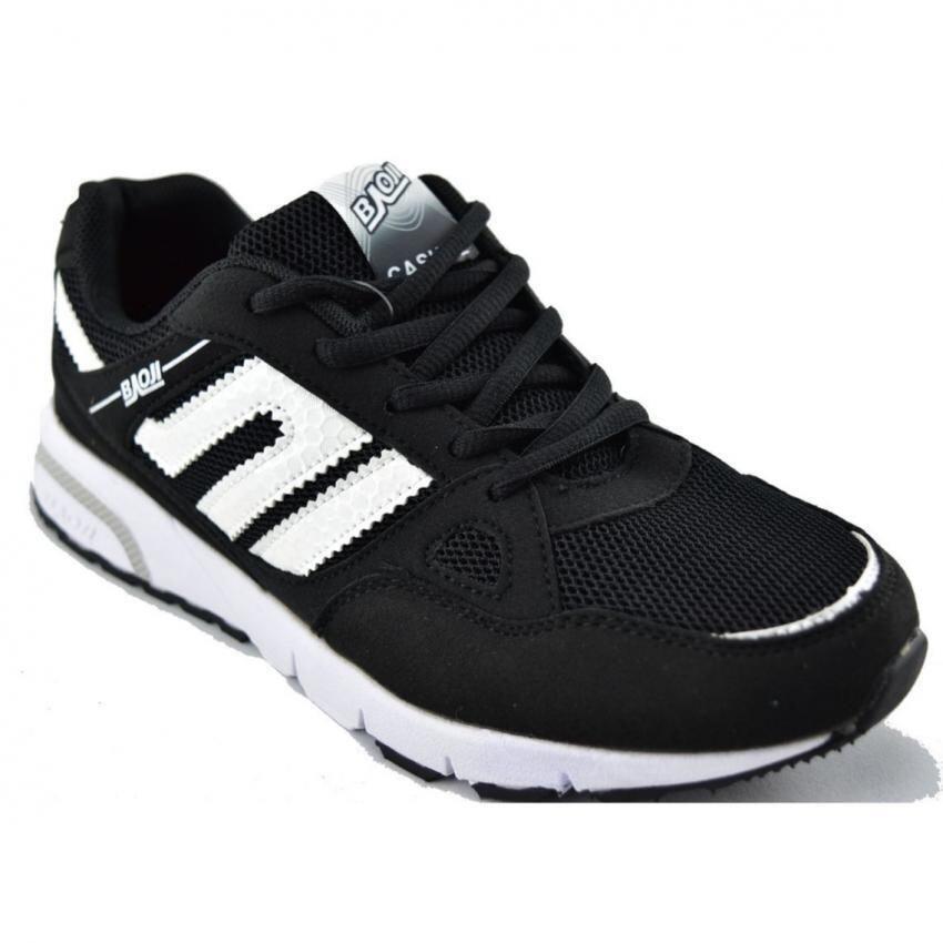 Baoji รองเท้าผ้าใบผู้หญิง รุ่น BJW212 (Black/White) ...