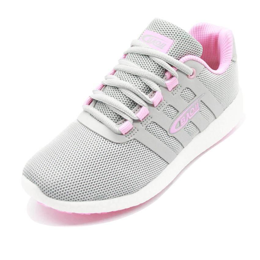 Baoji รองเท้าผ้าใบ แฟชั่น ลำรอง รุ่น DS710-สีเทา ...