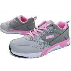 Baoji รองเท้าผ้าใบ BAOJI รุ่นBJW266 (Grey/Pink)