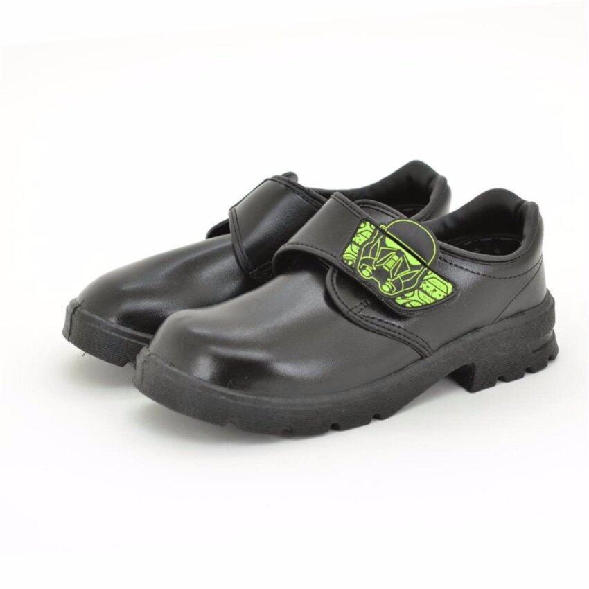 Bata Disney รองเท้านักเรียน เด็กผู้ชาย สีดำลายสตาร์วอร์ รหัส 1416634