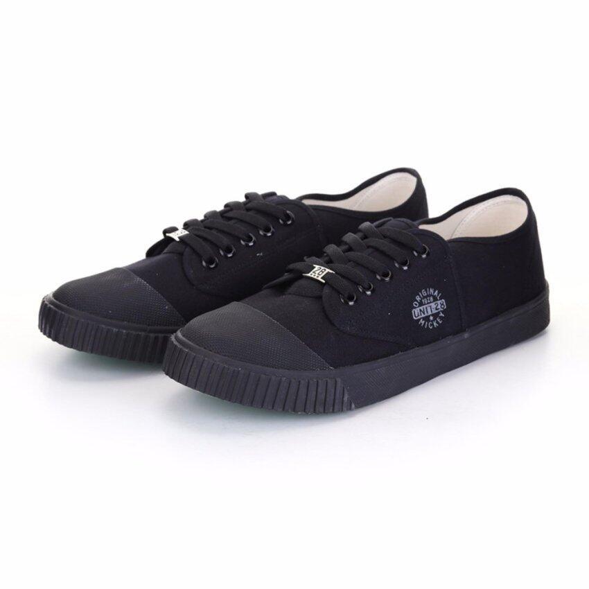 Bata Disney รองเท้านักเรียนผ้าใบ สีดำ รหัส 8296612