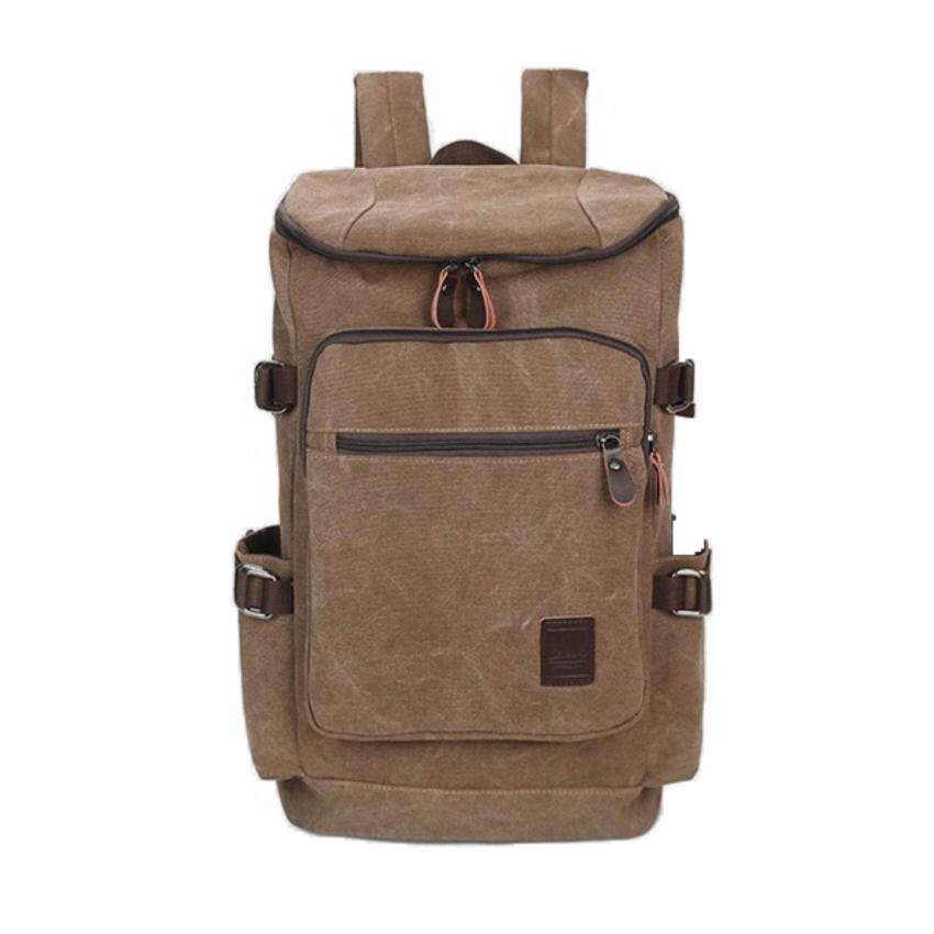 กระเป๋าเป้สะพายหลัง สำหรับเดินทาง รุ่น BMA799 (สีน้ำตาล)