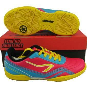รองเท้ากีฬา รองเท้าฟุตซอล เด็ก Breaker 0812 ชมพู